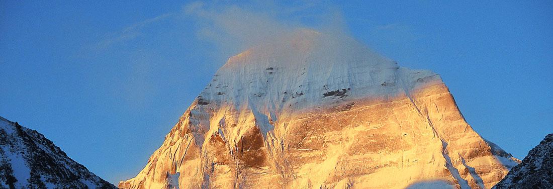 Der heilige Berg Kailash in Tibet
